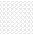 seamless geometric pattern white vector image