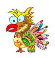 jolly parrot vector image