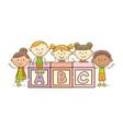 abc alphabet block