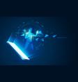 augmentedmobile vector image