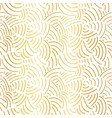elegant gold foil abstract background seamless vector image vector image
