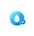moistening icon on white vector image vector image