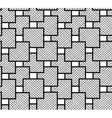 the pattern squares checkered vector image vector image