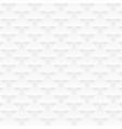 white decorative geometric texture seamless vector image vector image