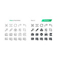 photo ui pixel perfect well-crafted thin vector image
