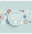 retro new year background 1312 vector image vector image