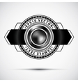 abstract premium badge vector image vector image