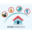 Insurance design vector image vector image