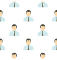 man in business suit as user pattern flat vector image vector image