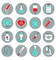 Medicine Flat Icons Set vector image vector image