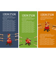 Picnic poster set with human hands around campfire vector image