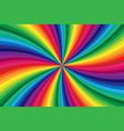 rainbow colored background vector image vector image