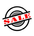 sale rubber stamp vector image vector image