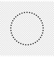 stars in circle icon vector image
