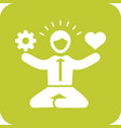 stress management skills vector image vector image