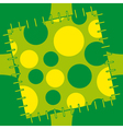 abstract patch vector image