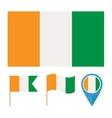Cote de Ivoire vector image