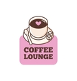 cute coffee bar logo Coffee shop logo vector image vector image