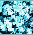 metallic frosty glowing dark golden stars on a vector image vector image