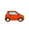 micro car vector image