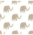 seamless elephant pattern vector image