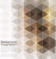 Abstract Vintage Modern Premium Hexadecagon vector image vector image