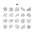 charts ui pixel perfect well-crafted thin vector image