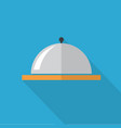 dish icon set of great flat icons with style vector image vector image