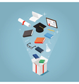 Education sale price vector image