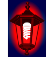 Red light vector image vector image