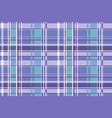 seamless checkered pattern in scottish style vector image