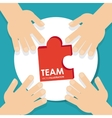 Teamwork icons design vector image vector image