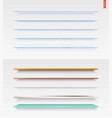 100 shelves long vector image