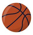 basketball ball sport supplies icon and logo vector image