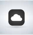 cloud app icon vector image