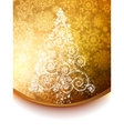 Elegant christmas tree background vector | Price: 1 Credit (USD $1)
