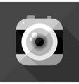 Flat camera icon vector image vector image