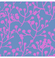 floral blooming flowers seamless pattern vector image vector image