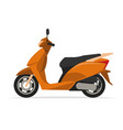 modern scooter motorcycle vector image vector image