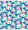 modern seamless pattern with geometric shapes vector image vector image