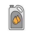 motor oil color icon vector image