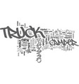 what to look for in truck campers text word cloud vector image vector image