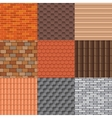 Roof tiles and roof texture set