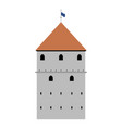 castle tower image vector image vector image