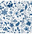 chintz fabric vector image vector image