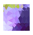 Cyber Grape Purple Abstract Low Polygon Background vector image vector image