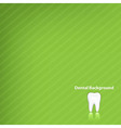 dental background vector image vector image