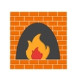 Fire Oven vector image
