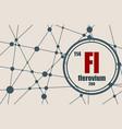 flerovium chemical element vector image vector image