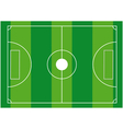 Football ground vector image